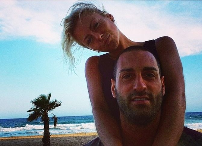 Stéphanie Clerbois et Eric