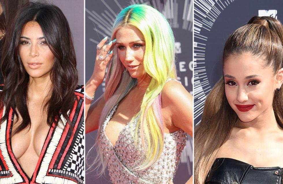 Raccolti, voluminosi o lisci: le acconciature delle star agli Mtv Video Music Awards 2014