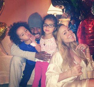 Mariah Carey en famille