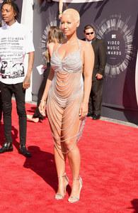 Amber Rose en Laura Dewitt aux MTV VMA 2014
