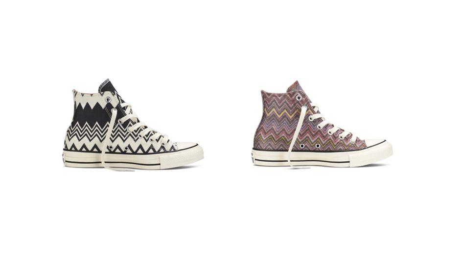 Converse x Missoni : Des baskets branchées pour la rentrée