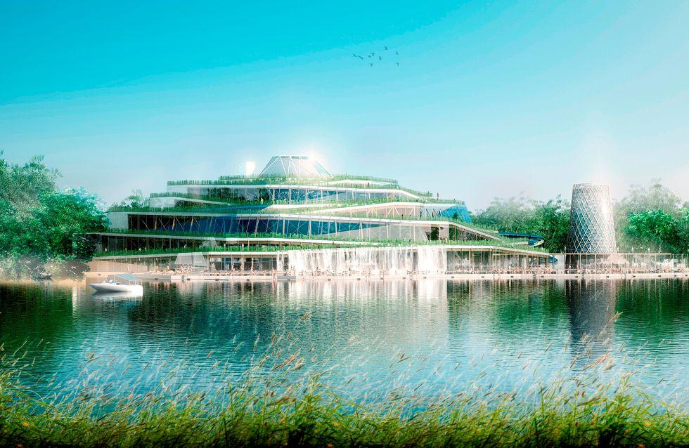 Aqualagon: a Parigi arriva il parco acquatico di lusso!