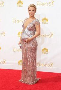 Hayden Panettiere enceinte aux Emmy Awards 2014