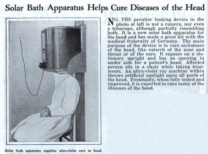 Scatola a raggi ultravioletti per curare le malattie