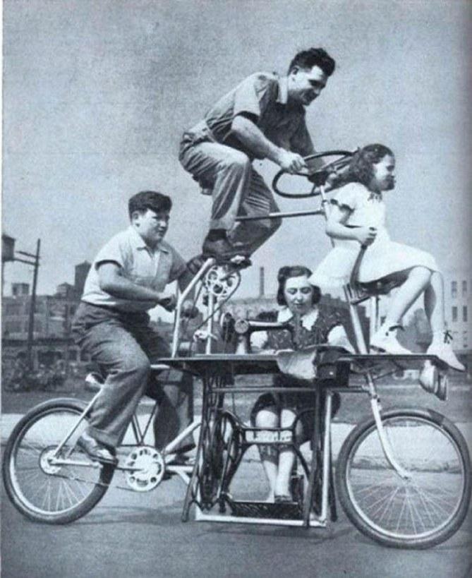 La bicicletta famigliare