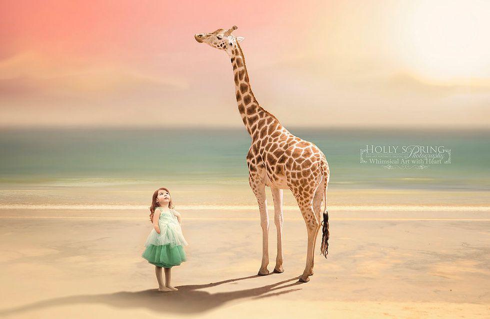Wie eine Mama die Träume ihrer kleinen Tochter wahr werden lässt ...