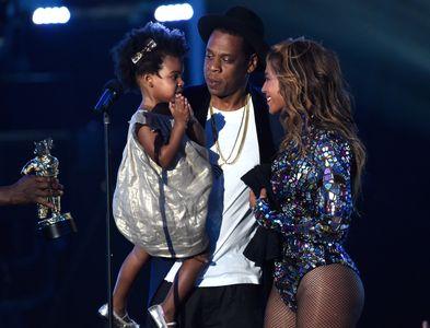 Beyoncé, Jay Z et Blue Ivy aux MTV VMA 2014