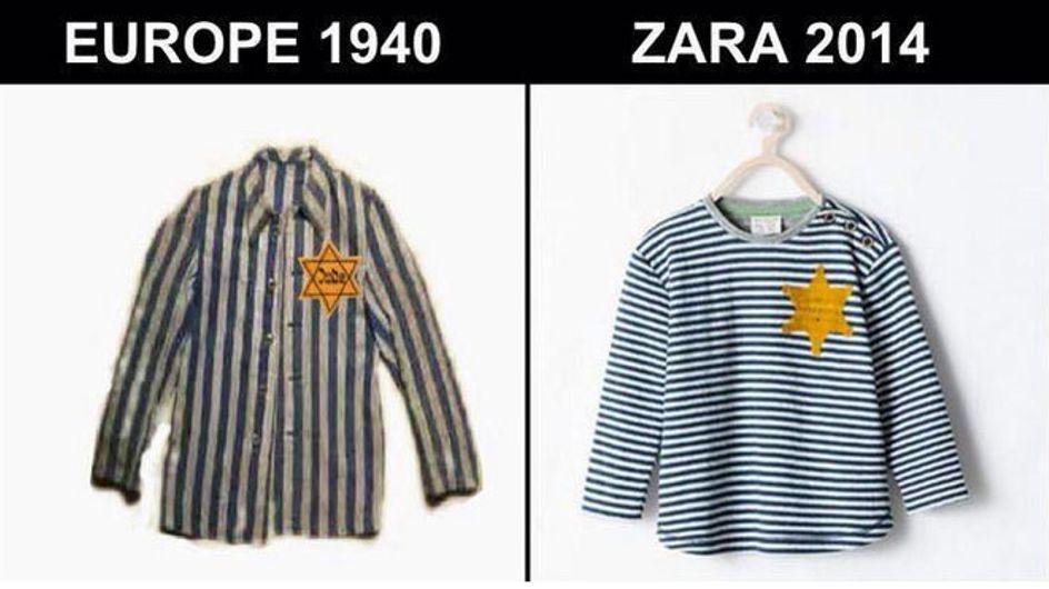 Zara desata la polémica ¿Vuelve la estrella judía?