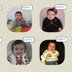 Amélie : Nos 8 enfants sont nés à seulement 3 semaines d'intervalle !