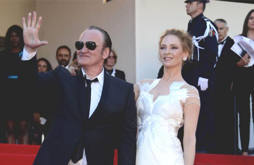 Uma Thurman spricht über ihre Beziehung zu Quentin Tarantino