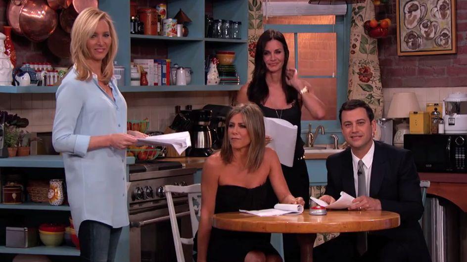 Jennifer Aniston, Courteney Cox... La réunion Friends que l'on attendait toutes (Vidéo)