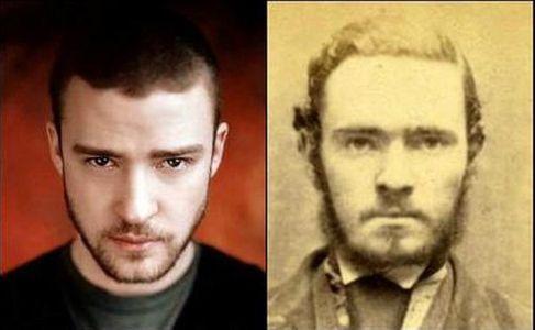 Justin Timberlake y este criminal del pasado