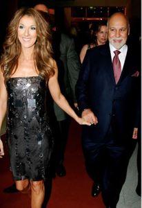 Céline Dion et son mari René Angelil