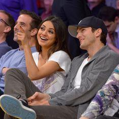 Warten aufs Baby: Kutcher bleibt an Kunis' Seite