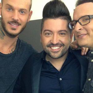 Chris Marques, Jean-Marc Généreux et M. Pokora