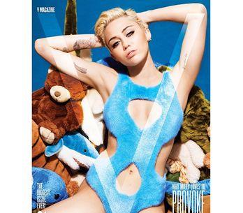 Miley Cyrus : Entièrement nue pour V Magazine (Photos)