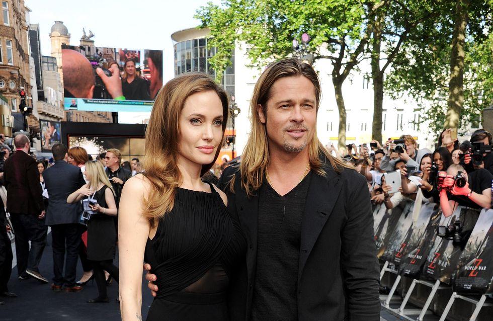 Brad Pitt et Angelina Jolie : Une lune de miel en famille