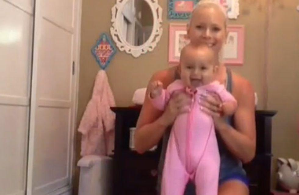 So wird Mami die Babypfunde los & das Töchterchen hat richtig Spaß!