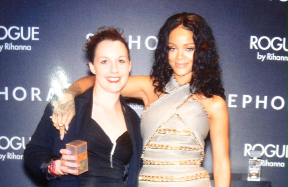 """Julie : """"Je ne réalise toujours pas que j'ai rencontré Rihanna !"""""""