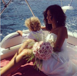 La romantica immagine pubblicata da Caterina su Instagram