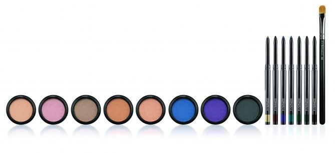 Electric Coll Eyeshadow  20 euro - Fluidline Eye Pencil 17,50 euro