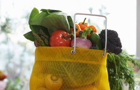 Gemüse ist sehr kalorienarm.