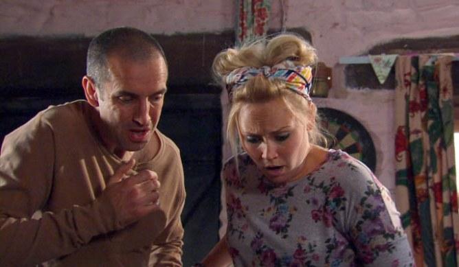 Robbie rattles Declan