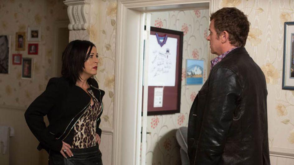 Eastenders 08/09 – Sharon reconsiders fleecing Phil