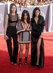 Kim Kardashian, Kendall et Kylie Jenner