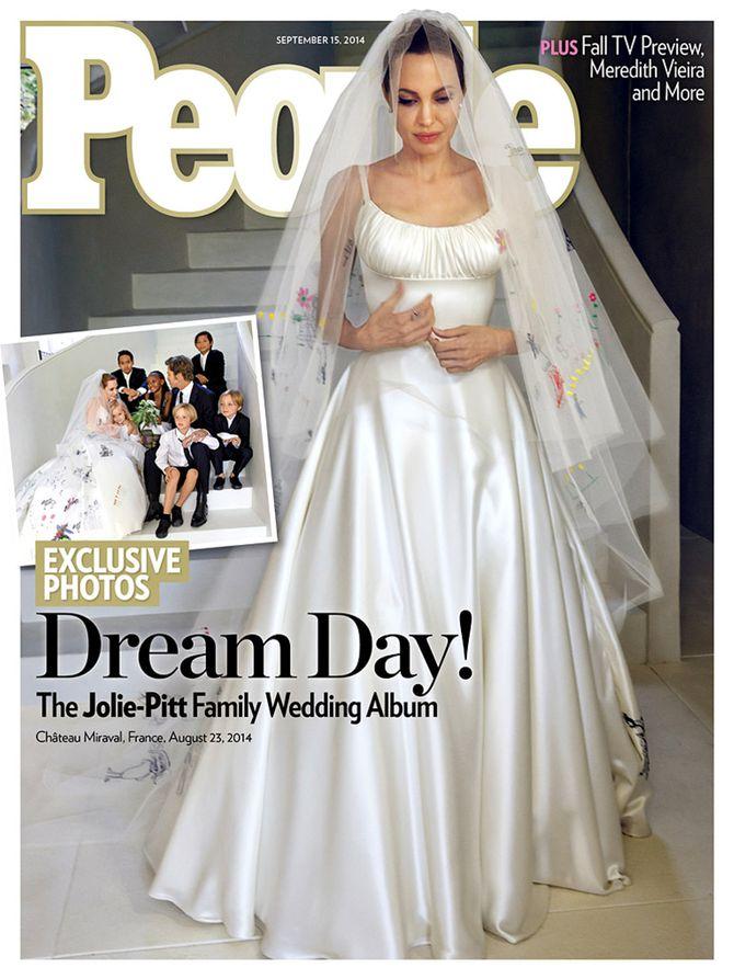 Les photos du mariages d'Angelina Jolie et Brad Pitt