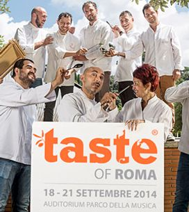 Quali sono i segreti degli chef stellati? Scoprili a Taste of Roma 2014