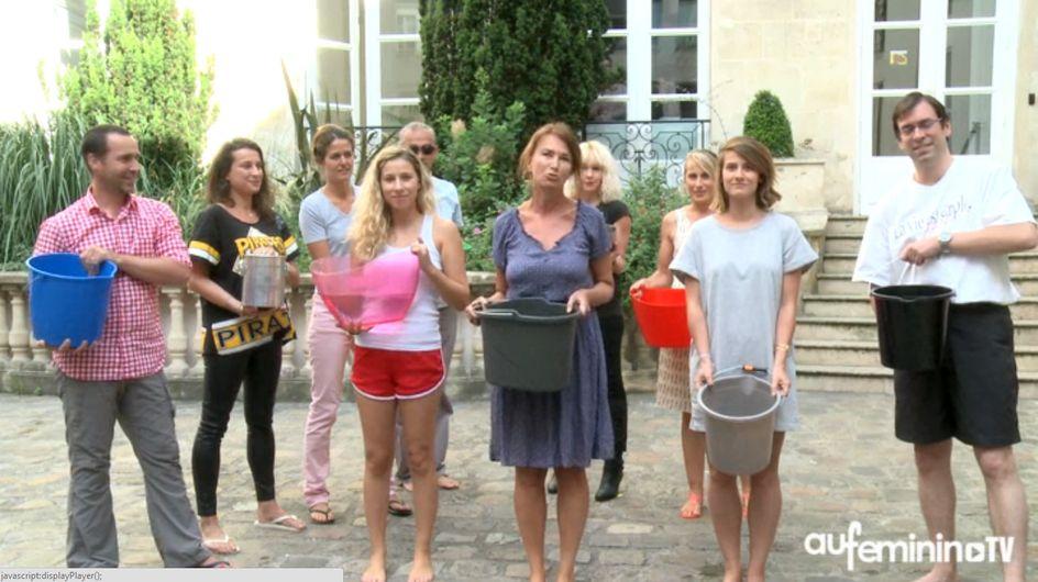 Aufeminin relève le défi du Ice Bucket (Vidéo)