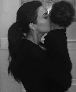 Kim Kardashian et sa fille