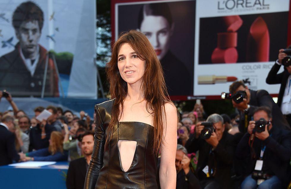 Charlotte Gainsbourg : Son look Nymphomaniac pour la Mostra de Venise