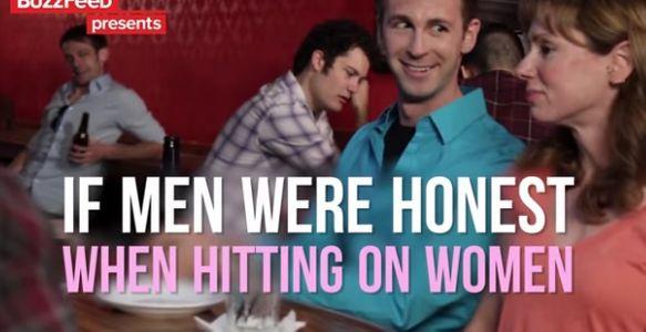 Et si les hommes étaient honnêtes quand ils draguent une femme de Buzzfeed