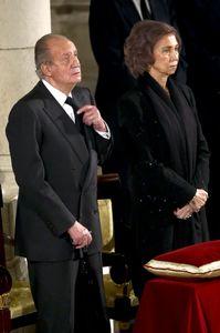 Los reyes Don Juan Carlos y Doña Sofía