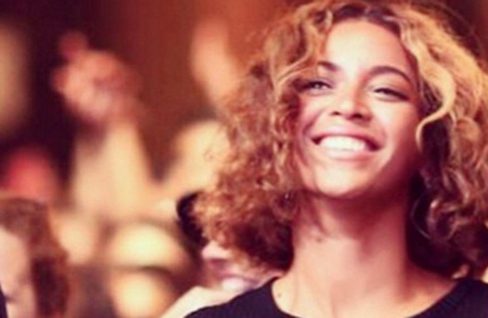 Beyoncé passe au carré flou (Photos)