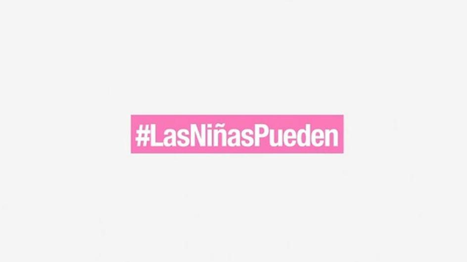 #LasNiñasPueden, una campaña que impulsa la desnaturalización de los estereotipos de género