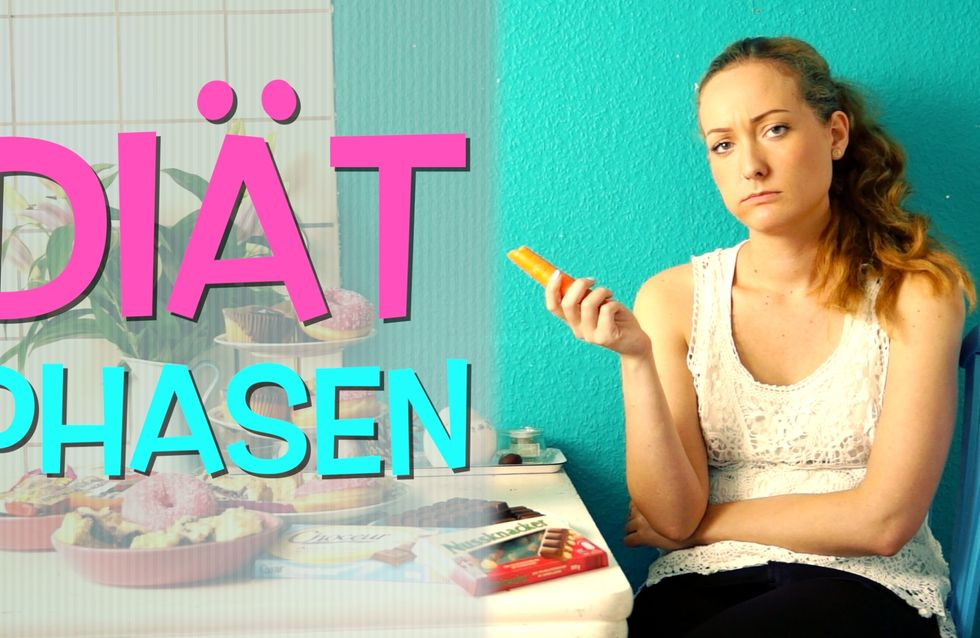 Die 7 Phasen, die JEDE Frau bei einer Diät durchläuft. Leider.