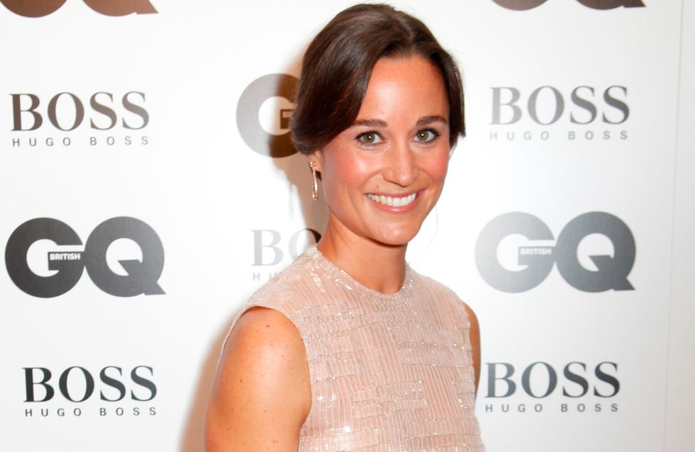 Pippa Middleton : Elégamment rétro sur le tapis rouge (Photo)