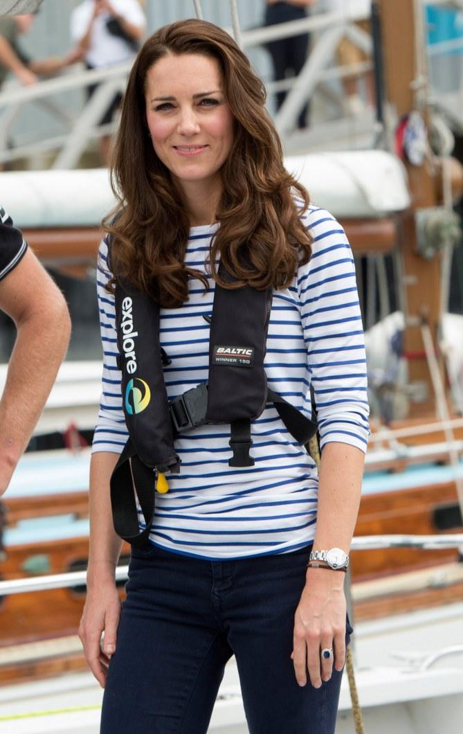 Kate Middleton, jamais sans sa marinière