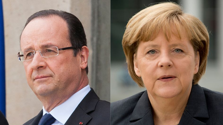 Télé : La romance impossible entre François Hollande et Angela Merkel portée à l'écran (Photos)