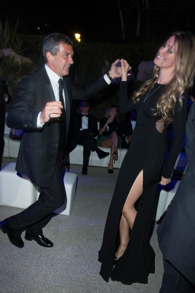 Antonio Banderas y Nicole