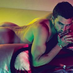 Jamie Dornan, el espectacular Christian Grey, posa desnudo para Interview