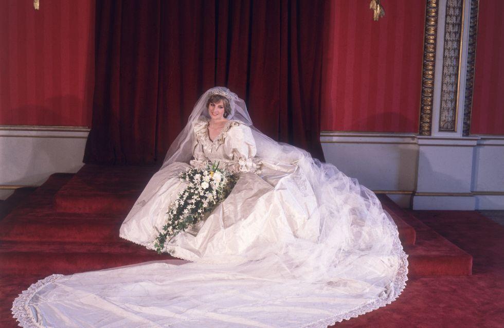 Harry et William récupèrent la robe de mariée de Lady Di
