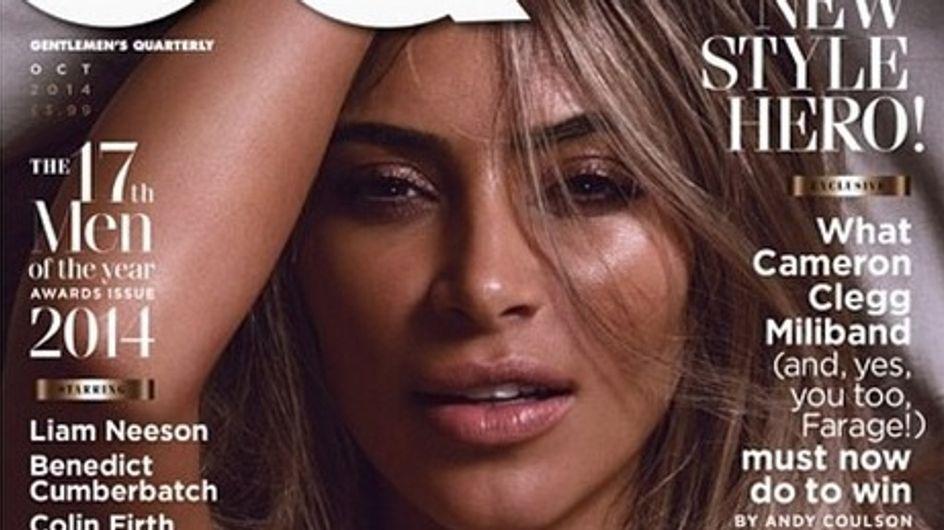 Kim Kardashian : Complètement nue pour GQ (Photos)