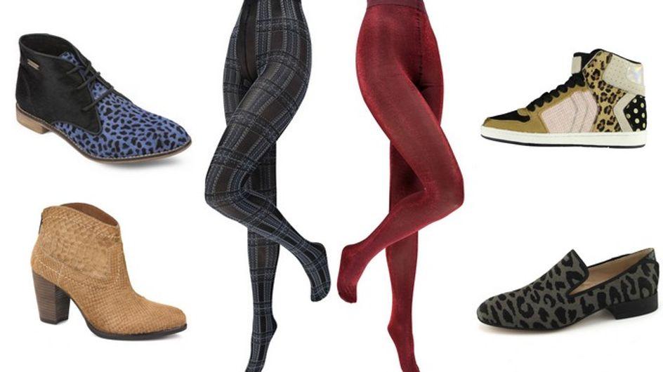 Comment associer ses chaussures à ses collants?
