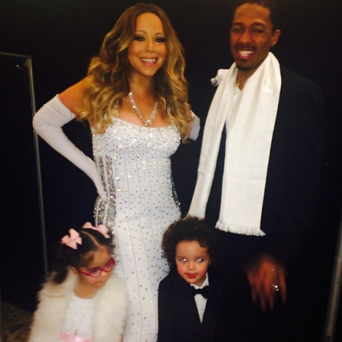 Mariah Carey, son mari et ses jumeaux