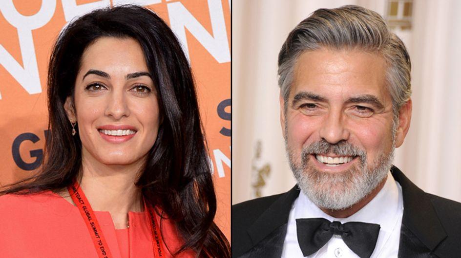 George Clooney : La réponse d'Amal Alamuddin aux rumeurs de grossesse