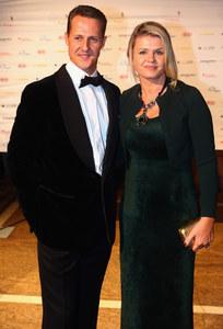 Michael Schumacher avec sa femme Corinna